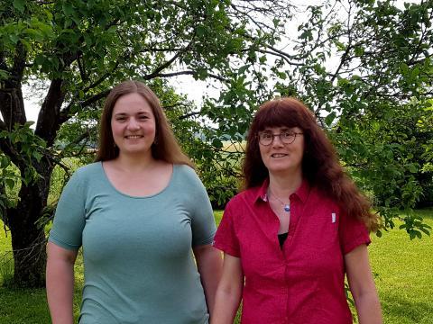 Bild von Pastoralreferentin Susanne Lindner und Pfarrerin Anja Bautz