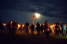 Mondscheinspaziergang auf dem Staffelberg. Bild: privat (Marion Fischer)